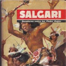 Libros de segunda mano: AVENTURAS ENTRE LOS PIELES ROJAS - SALGARI Nº 3 - EDITORIAL MOLINO 1955. Lote 268852969