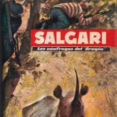 Libros de segunda mano: LOS NAUFRAGOS DEL OREGON - SALGARI Nº 6 - EDITORIAL MOLINO 1955. Lote 268859969