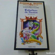 Libros de segunda mano: DUNGEONS & DRAGONS. AVENTURA SIN FIN Nº 19. CABALLERO DE ILUSIÓN, MARY KIRCHOFF. TIMUN MAS. Lote 269060883