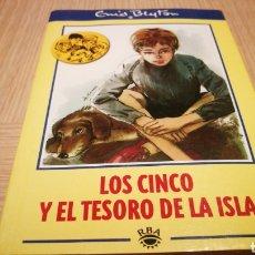 Libros de segunda mano: LOS CINCO Y EL TESORO DE LA ISLA - ENID BLYTON - EDICIONES RBA. Lote 269499223