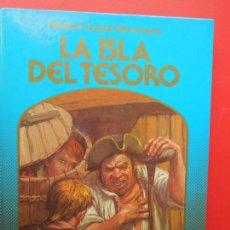 Libros de segunda mano: LA ISLA DEL TESORO , R L STEVENSON - MONTENA CANAL - 1982 -COLECCIÓN LA ROSA DE ORO. Lote 269828823