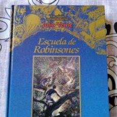 Libros de segunda mano: ESCUELA DE ROBINSONES. JULIO VERNE.. Lote 269956858