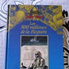 Libros de segunda mano: LOS 500 MILLONES DE BEGUM. JULIO VERNE.. Lote 269957188