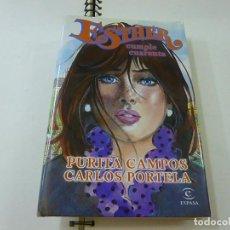 Livros em segunda mão: ESTHER CUMPLE CUARENTA .- PURITA CAMPOS Y CARLOS PORTELA.-N 1. Lote 271358913
