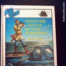 Libros de segunda mano: VEINTE MIL LEGUAS DE VIAJE SUBMARINO. JULES VERNE. ANAYA TUS LIBROS MARZO 1995.. Lote 273467883