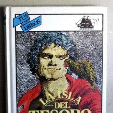 Libros de segunda mano: LA ISLA DEL TESORO DE ROBERT L. STEVENSON. Lote 275258213