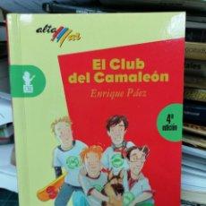 Libros de segunda mano: EL CLUB DEL CAMALEÓN. ENRIQUE PÁEZ. Lote 275464688