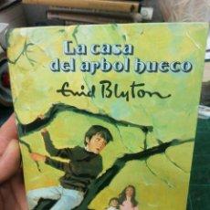 Libros de segunda mano: ENID BLYTON. LA CASA DEL ÁRBOL HUECO. MOLINO. 1972. Lote 275529728