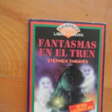 Livros em segunda mão: FANTASMAS EN EL TREN - LIBRO-JUEGO - STEPHEN THRAVES - TIMUN MAS - 1995.. Lote 275578438
