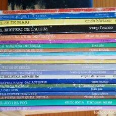 Libros de segunda mano: LOTE 21 LLIBRES GREGAL JUVENIL EN VALENCIÀ. Lote 276198168