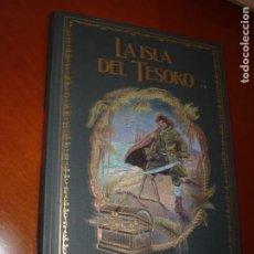 Libros de segunda mano: LA ISLA DEL TESORO. ROBERT LOUIS STEVENSON. ILUSTRADO. Lote 276538568