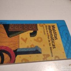 Libros de segunda mano: LIBRO MALDITAS MATEMÁTICAS, ALICIA EN EL PAÍS DE LOS NÚMEROS, CARLO FABRETTI. Lote 277302958