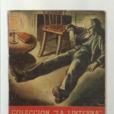 Libros de segunda mano: COLECCIÓN LA LINTERNA 6: EL SECRETO DEL ALFILER, 1945, ZIG-ZAG, BUEN ESTADO. COLECIÓN A.T.. Lote 277517663