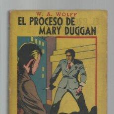 Libros de segunda mano: COLECCIÓN LUCIERNAGA 17: EL PROCESO DE MARY DUGGAN, 1944, BUEN ESTADO. COLECCIÓN A.T.. Lote 277520373