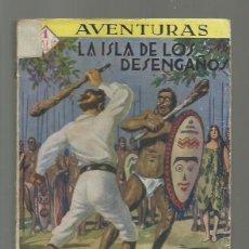 Libros de segunda mano: LA ISLA DE LOS DESENGAÑOS, PRENSA MODERNA, USADA. COLECCIÓN A.T.. Lote 277524718