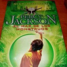 Libros de segunda mano: PERCY JACKSON. EL MAR DE LOS MONSTRUOS. RICK RIORDAN. . EDITADO POR SALAMANDRA EST23B4. Lote 278277393