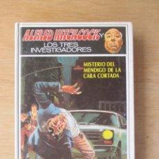 Libros de segunda mano: ALFRED HITCHCOCK Y LOS TRES INVESTIGADORES MISTERIO DEL MENDIGO DE LA CARA CORTADA ED. MOLINO 1990. Lote 278577693