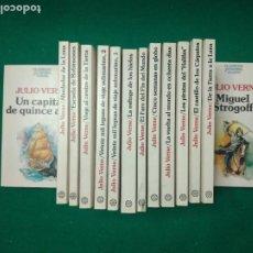 Libros de segunda mano: CLASICOS JUVENILES PLANETA. 13 TITULOS DE JULIO VERNE EN 14 TOMOS. EDITORIAL PLANETA.. Lote 279519043