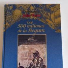 Libros de segunda mano: JULIO VERNE - LIBRO - LOS 500 MILLONES DE LA BEGUM. Lote 280407758