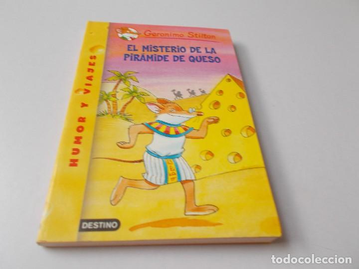 GERONIMO STILTON Nº 17 EL MISTERIO DE LA PIRÁMIDE DE QUESO (Libros de Segunda Mano - Literatura Infantil y Juvenil - Novela)