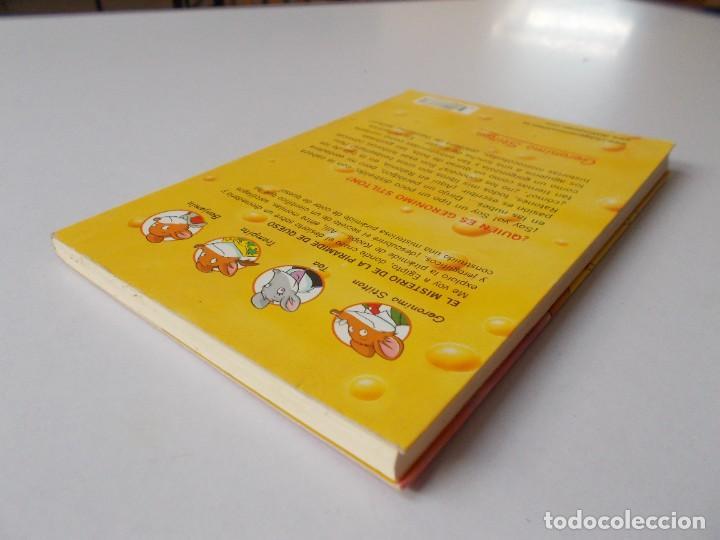 Libros de segunda mano: GERONIMO STILTON nº 17 El misterio de la pirámide de queso - Foto 4 - 280589723
