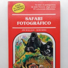 Libros de segunda mano: SAFARI FOTOGRAFICO - ELIGE TU PROPIA AVENTURA Nº 37 - TIMUN MAS. Lote 283767328