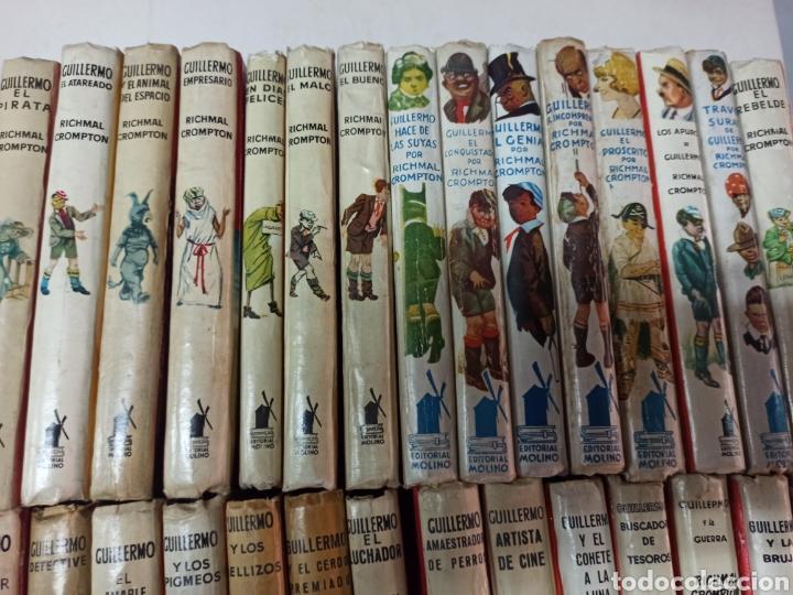 Libros de segunda mano: CROMPTON: LAS AVENTURAS DE GUILLERMO, PRIMERA EDICIÓN: 29 TOMOS, 1935-1966 EDIT. MOLINO TAPA DURA, - Foto 2 - 286255833