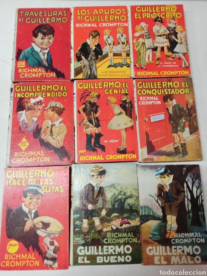 Libros de segunda mano: CROMPTON: LAS AVENTURAS DE GUILLERMO, PRIMERA EDICIÓN: 29 TOMOS, 1935-1966 EDIT. MOLINO TAPA DURA, - Foto 4 - 286255833