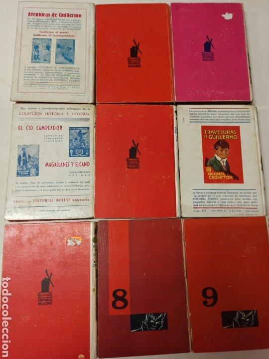 Libros de segunda mano: CROMPTON: LAS AVENTURAS DE GUILLERMO, PRIMERA EDICIÓN: 29 TOMOS, 1935-1966 EDIT. MOLINO TAPA DURA, - Foto 5 - 286255833
