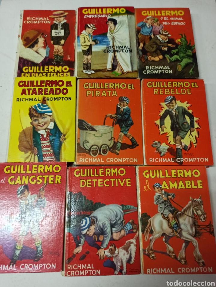 Libros de segunda mano: CROMPTON: LAS AVENTURAS DE GUILLERMO, PRIMERA EDICIÓN: 29 TOMOS, 1935-1966 EDIT. MOLINO TAPA DURA, - Foto 9 - 286255833