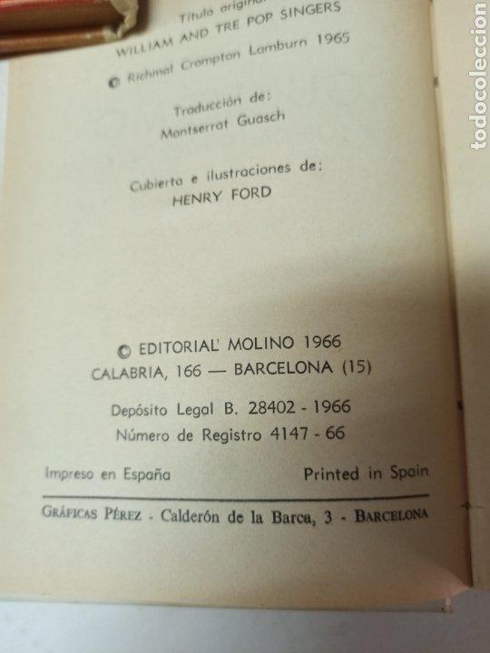 Libros de segunda mano: CROMPTON: LAS AVENTURAS DE GUILLERMO, PRIMERA EDICIÓN: 29 TOMOS, 1935-1966 EDIT. MOLINO TAPA DURA, - Foto 23 - 286255833