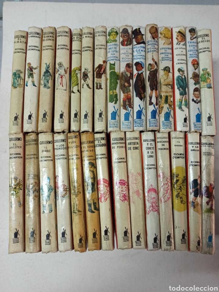 CROMPTON: LAS AVENTURAS DE GUILLERMO, PRIMERA EDICIÓN: 29 TOMOS, 1935-1966 EDIT. MOLINO TAPA DURA, (Libros de Segunda Mano - Literatura Infantil y Juvenil - Novela)