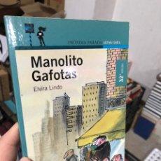 Livros em segunda mão: MANOLITO GAFOTAS - ELVIRA LINDO - ALFAGUARA. Lote 287586833
