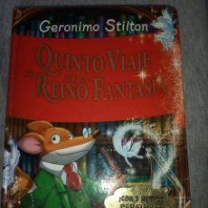 Libros de segunda mano: QUINTO VIAJE ...GERONIMO STILTON. Lote 288373813