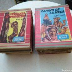 Libros de segunda mano: LOTE DE 19 NOVELAS COLECCIÓN MOLINO ( DÉCADA DE LOS 50 - SIGLO XX ). Lote 288411173