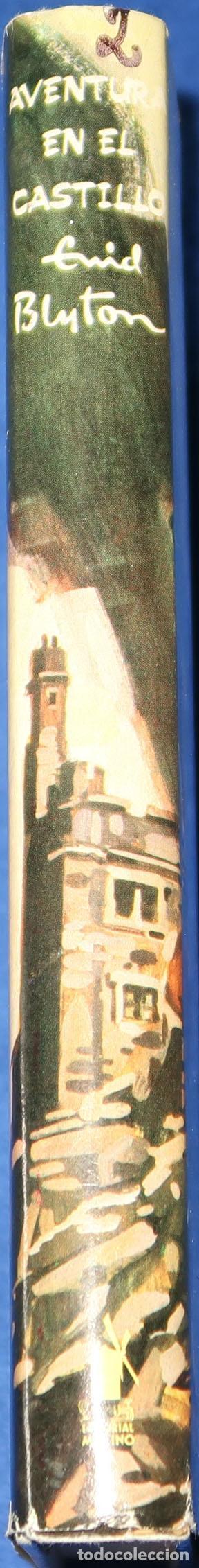 Libros de segunda mano: Aventura en el castillo - Serie Aventura 2 - Enid Blyton - Molino (1995) - Foto 3 - 288562623