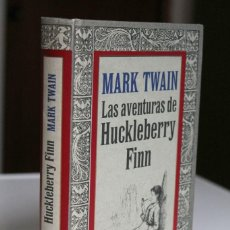 Libros de segunda mano: MARK TWAIN - LAS AVENTURAS DE HUCKLEBERRY FINN - CÍRCULO LECTORES. Lote 288658488