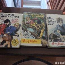 Libros de segunda mano: TRES LIBROS LOS CINCO - ENID BLYTON SIN LOMO. VER FOTOS!!!!. Lote 289308073
