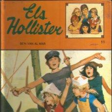 Libros de segunda mano: JERRY WEST - ELS HOLLISTER SE'N VAN AL MAR. Nº 11 - EN CATALÀ!!!!! ED. TORAY. Lote 289309013