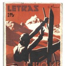 Libros de segunda mano: LETRAS 31: EL RELOJ DE NICKEL, 1939, MUY BUEN ESTADO. COLECCIÓN A.T.. Lote 289925108