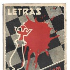 Libros de segunda mano: LETRAS 34,: IN MEMORIAM, 1940, BUEN ESTADO. COLECCIÓN A.T.. Lote 289927083