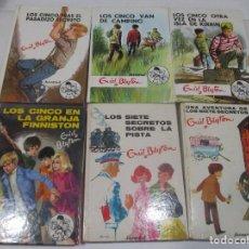 Libros de segunda mano: ENID BLYTON LOS SIETE SECRETOS ( 6 TOMOS DIFERENTES) W9603. Lote 290036773