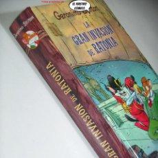 Livros em segunda mão: GERONIMO STILTON, LA GRAN INVASIÓN DE RATONIA, ED. DESTINO AÑO 2009, C1. Lote 292032333