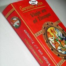 Livros em segunda mão: GERONIMO STILTON, VIAJE EN EL TIEMPO 1, ED. DESTINO AÑO 2007, C1. Lote 292032528