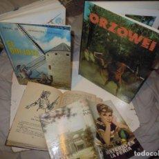 Livros em segunda mão: LOTE MISTERIO BLYTON 1958 QUIJOTE EDELVIVES 1974 ORZOWEI TVE, AVENTURA DIDÁCTICA. Lote 293613628