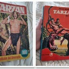 Libros de segunda mano: 2 LIBROS DE TARZAN. LA EXPEDICION DE AMARANTO 1964 Y VIAJE AL CENTRO DE LA TIERRA FHER 1970. Lote 294378658