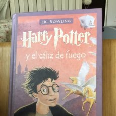 Libros de segunda mano: LIBO HARRY POTTER Y EL CÁLIZ DE FUEGO. Lote 294556058