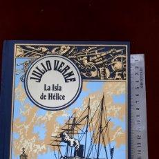 Libros de segunda mano: JULIO VERNE LA ISLA DE HELICE EDICIONES RBA. Lote 296802058