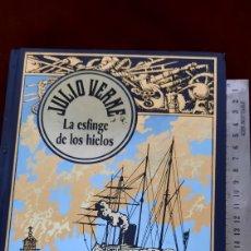 Libros de segunda mano: JULIO VERNE LA ESFINGE DE LOS HIELOS EDICIONES RBA. Lote 296804333