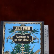 Libros de segunda mano: JULIO VERNE AVENTURAS DE UN NIÑO IRLANDES EDICIONES RBA. Lote 296806888